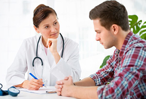 People with schizophrenia tend to suffer more form physical conditions such as cancer partly because they are often reluctant to approach their doctor. Image: Alexander Raths/Shutterstock