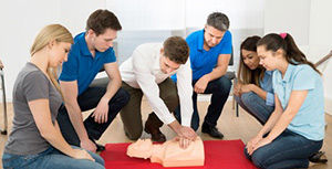 A first aid at work course like those run by the Red Cross and St John's Ambulance will be valued by most employers