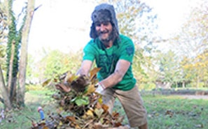Conservation work such as TCV's Green Gym scheme can be interesting and rewarding.  It will also help you to relax and sleep better