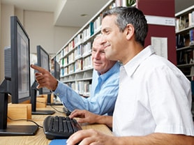Your local reference library is a great source of information about jobsearching
