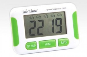Special electronic timers like this are available to help manage your medication