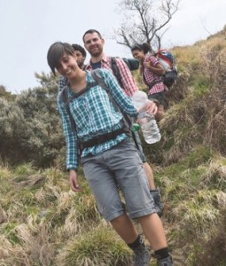 Social activities like walking can help to enlarge your circle of friends.  (Image:  William Perugini on Shutterstock)