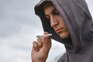 Depression in schizophrenia may lead people to abuse alcohol or use street drugs (Photo: Axente Vlad on Shutterstock)